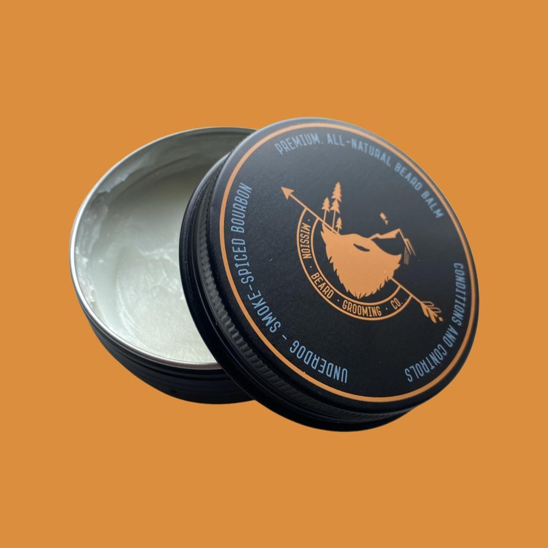Underdog Smoke-Spiced Bourbon Beard Balm